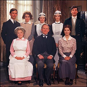servants from Upstairs/Downstairs