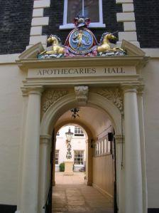 Apothecaries' Hall Black Friars Lane, London
