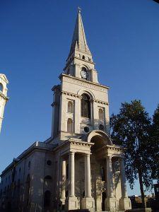 Christ Church Spitalfields (1714–29), west front