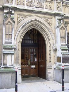 The Mayors and City of London Court, near the Guildhall