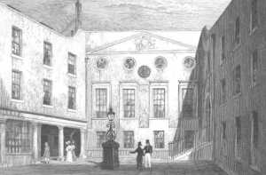 Apothecaries' Hall courtyard in 1831