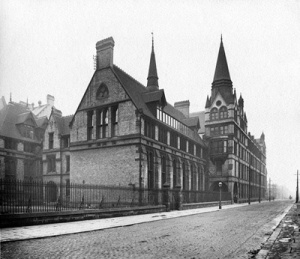 Picture of the old Medical School in 1908 Source: School of Medicine