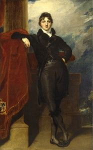 Portrait of Lord Granville Leveson-Gower, later 1st Earl Granville.