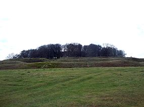 285px-Badbury_Rings_-_view_from_the_northeast_-_April_2013