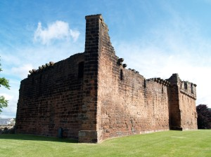 The ruins of Penrith Castle in 2008