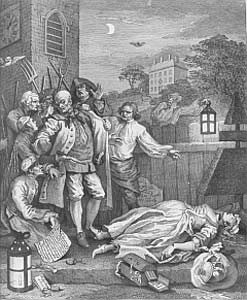 "Jonathan Wild's execution was a rum old affair according to Daniel Defoe, who was there, with much ""huzzaing"" from the excitable crowd."