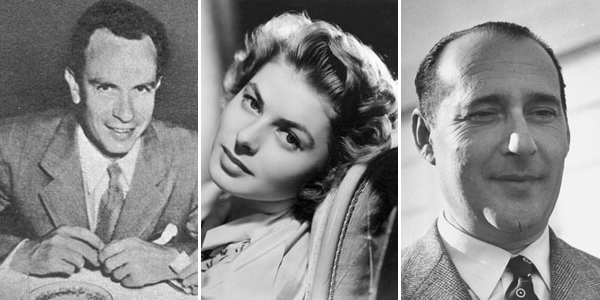 The Players: Lindstrom, Bergman, and Rossellini
