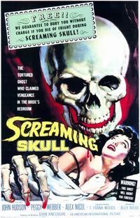"""1958 American film """"The Screaming Skull,"""" NOT based on the UK legend"""