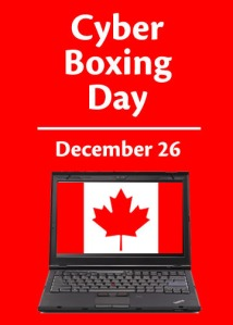 CYBER BOXING DAY - Cyber Boxing Day Sales Start Christmas Eve