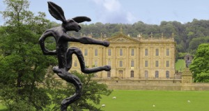 Chatsworth House, likely the inspiration for Pemberley