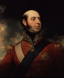 Edward, Duke of Kent and Strathearn, by Sir William Beechey (died 1839).  William Beechey - National Portrait Gallery: NPG 647 ~Public Domain