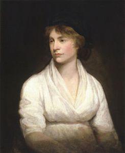 Mary Wollstonecraft by John Opie (c. 1797) John Opie - National Portrait Gallery: NPG 1237 ~ Public Domain