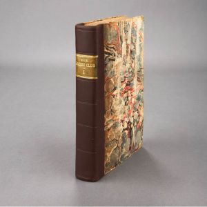 The Female Jockey Club, or a Sketch of Manners of the Age. London: D.I. Eaton, [1792-] 1794. 4 parts in 2 volumes, stated fifth, second and third editions. Early marbled boards rebacked to style. ©William Doyle Galleries NY http://www.doylenewyork. com/asp/fullcatalogue. aspsalelot=11FA01++++73+&refno=++837041&image=3