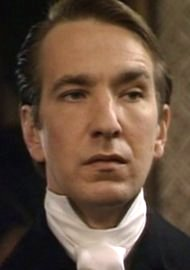 "In 1982, Rickman portrayed Obadiah Slope in ""The Barchester Chronicles."""