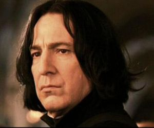 Rickman has been Severus Snape in the Harry Potter series of films.