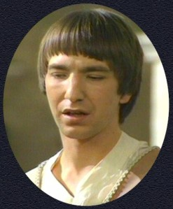 "At the beginning of his career, Rickman played Tybalt in a 1978 TV movie of ""Romeo and Juliet"""