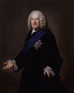 The Earl Granville William Hoare (between circa 1707 and circa 1792) - National Portrait Gallery: NPG 1778 ~ Public Domain