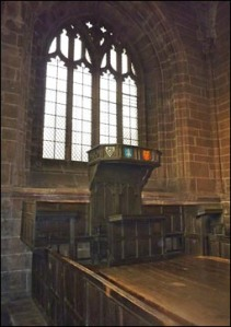From A Virtual Stroll Around the Walls of Chester - Consistory Court http://www.chesterwalls. info/cathedral2.html