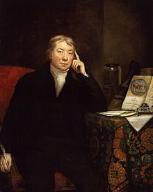 Edward Jenner (1749-1823), Discoverer of vaccination. James Northcote - National Portrait Gallery - Public Domain