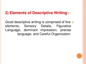 Descriptive Essay Writing www.slideshare.net