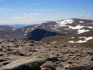 Ben Macdui Seen from Cairn Gorm http://www.undiscovered scotland.co.uk/usscotfax/ outdoors/greyman.html