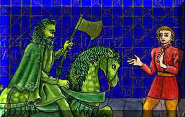 analysis of sir gawain and the green knight The green knight is not named in the poem, and he says only that men know him as the knight of the green chapel his strange color and his marvelous ability t.