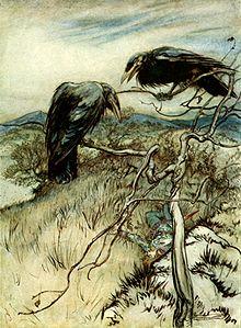 "Arthur Rackham - Rackham, Arthur: ""Some British Ballads"" (1919) ~ Public Domain via Wikipedia"