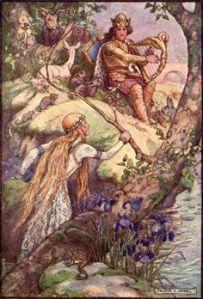 Fairy Tales on Pinterest | Cinderella, Sleeping Beauty and Arthur ... www.pinterest.com Frank Cheyne Papé ~ Ringfalla Bridge ~ The Diamond Fairy Book ~ c1911
