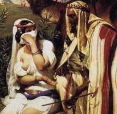 The Levirate Law www.womeninthebible.net Tamar and Judah from Horace Vernet