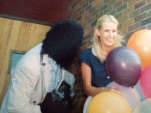 "In the early 1970s, I taught at Buffalo High School, an experience I will forever cherish. One year, my students hired a ""gorilla"" to deliver me birthday balloons. How often does that happen?"