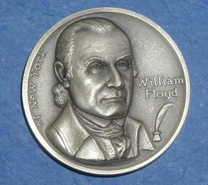 Declaration of Independence Medal - William Floyd of New York from ... www.rubylane.com