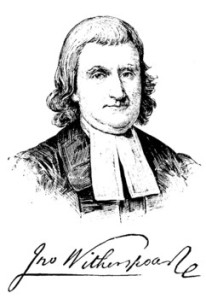 John Witherspoon was the only Declaration signer to be a college ... www.examiner.com