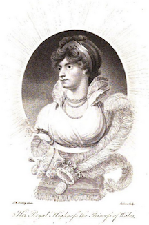 Princess Caroline, Princess of Wales