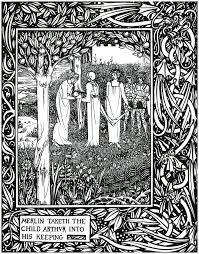 Aubrey Beardsley's illustrations from Le Morte D'Arthur, page 1 www.abovetopsecret.com