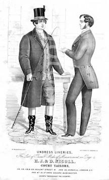 Victorian Fashion - Undress Liveries