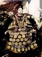 Empress Dowager Cixi, of the Manchu Yehenara clan, was a Chinese empress dowager and regent who effectively controlled the Chinese government in the late Qing dynasty for 47 years from 1861 until her death in 1908. Wikipedia