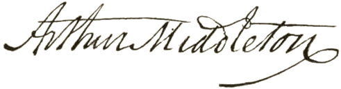 Arthur_Middleton_signature