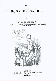 Book_of_Snobs-Première_de_couverture