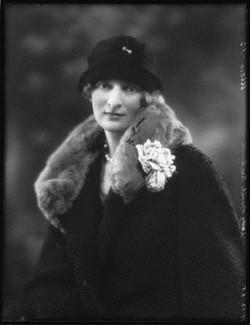 NPG x123524; Lady Muriel Beatrice Beckwith (nÈe Gordon-Lennox, later Lady Jones) by Bassano