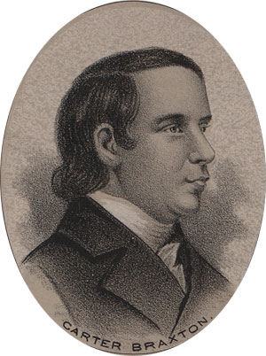 Carter Braxton Father Of 18 And Signer Of The Declaration Of