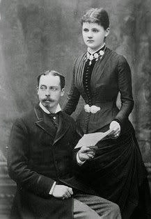 prince leopold with wife helena