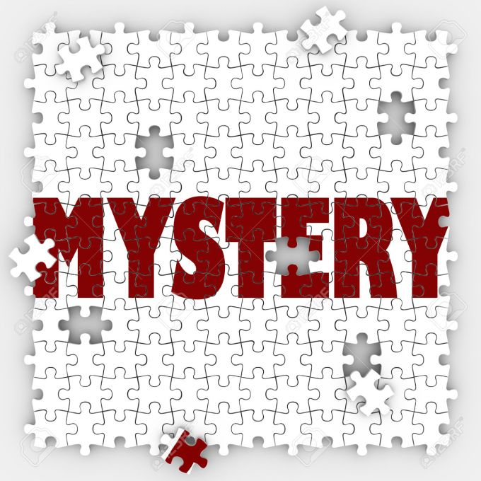 Mystery Puzzle Pieces Hole Unknown Uncertainty Guessing Solved S
