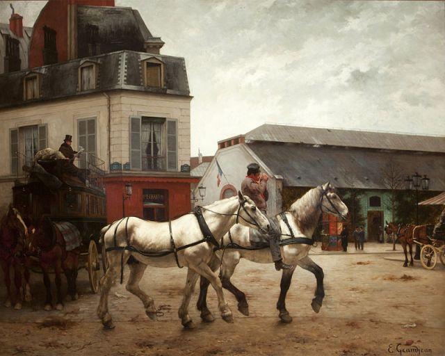 A_Coach_Stop_on_the_Place_de_Passy_-_Edmond_Georges_Grandjean_-_Google_Cultural_Institute