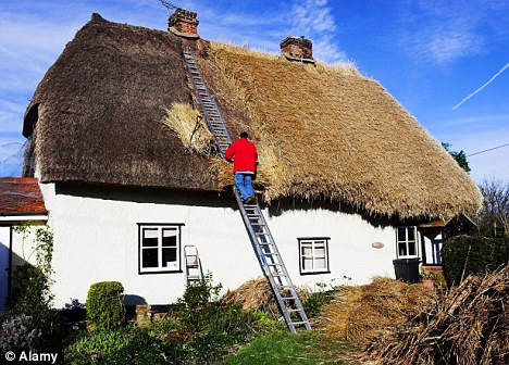 Crafting a thatched roof every woman dreams for Cottage style roof design