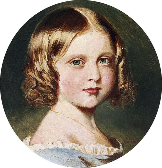 800px-Queen_Victoria_(1819-1901),_after_Franz_Xavier_Winterhalter_-_Portrait_of_Princess_Louise_(1848-1939)
