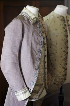 Gentlemen's jackets at The Argory, County Armagh.