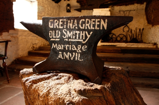 Why Gretna Green? Marriage Over the Anvil, a Guest Post by